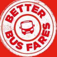 Better Bus Fares Logo