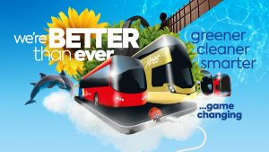 Go North East Better than Ever advert