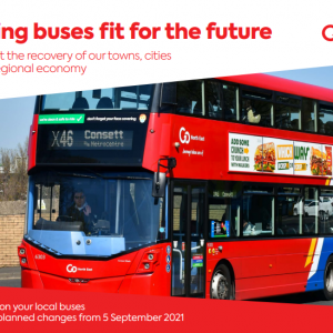 """Go North East: """"Getting buses fit for the future"""""""